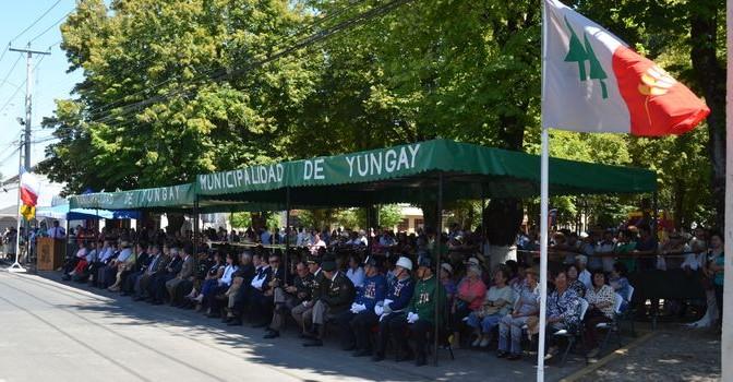 Yungay Celebra 174 Años de Vida con Acto Cívico y Desfile