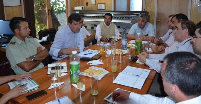 Comité Comunal de Emergencia Sostuvo Importante Reunión en la Alcaldía