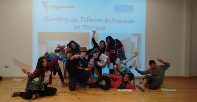 Jóvenes de Yungay Participaron Activamente en Talleres de Muralismo y Break Dance