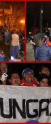 Cientos de Yungayinos Festejaron Triunfo de Chile en la Copa América Centenario