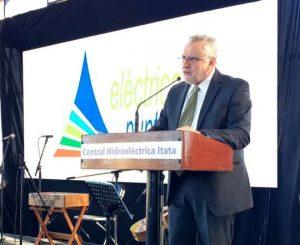 Eléctrica Puntilla inaugura Central de Pasada Itata con presencia del Ministro de Energía