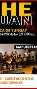Biblioteca de Yungay Invita a Celebrar Noche de San Juan