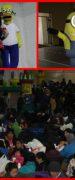 """Paneles Arauco S.A. Planta Trupán Cholguán Celebró el """"Día del Niño"""" a los Hijos de sus Trabajadores con Juegos Infantiles, Show, Magia y Golosinas"""
