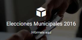 ELECCIONES MUNICIPALES 2016