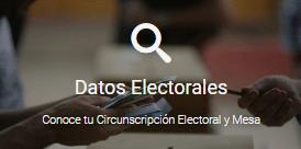 YUNGAY | Conozca Datos Electorales