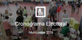 SERVEL | Cronograma Municipales
