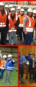 Red de Turismo de Yungay Visitaron la Planta Paneles Arauco Trupán Cholguán