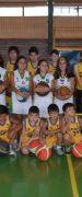 Escuela de Basquetbol Águila Real y Escuela de Angol Disputaron Encuentro Amistoso en Yungay