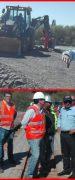 MOP Instala Puente de Emergencia Sobre el Río Laja Que Permite la Conectividad Para la Comuna de Tucapel