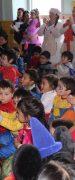 """Niños del Jardín Infantil y Sala Cuna """"Verde Amanecer"""" Disfrutaron de Magia, Baile y Música Para Celebrar el Día del Niño"""
