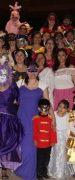 Con Carros Alegóricos y Comparsas Colegio Nueva Esperanza de Yungay Celebró un Nuevo Aniversario