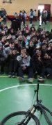 Adolfo Almarza Destacado Rider Nacional Realizó Charla Motivacional a Alumnos del Liceo de Yungay