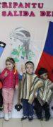 """Niños del Jardín Infantil y Sala Cuna """"Verde Amanecer"""" de Yungay Celebran Junto a sus Familias el Año Nuevo Mapuche"""