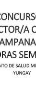 Bases Concurso Público Cargo Director/a CESFAM Campanario