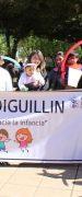 """Niños y Niñas de Yungay Participaron de Marcha por el """"Buen Trato"""" Hacia la Infancia"""