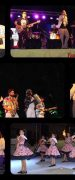 """Público de XVII Feria Costumbrista de Yungay Bailaron con """"Sonora del Compadre Moncho"""" y """"Sonora La Clave"""""""