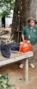 Bomberos de Yungay Realiza Demarcación y Limpieza de Sendero Peatonal en Santa Lucía Bajo