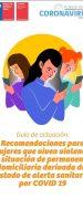 Para Reforzar Plan de Contingencia del MinMujer por Pandemia: Lanzan Primera Guía Digital de Ayuda en Violencia Contra la Mujer