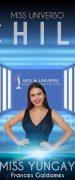 Yungayina Frances Galdames San Martin se Encuentra Participando en Concurso Miss Universo Chile 2020