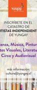 Se Abre Catastro de Artistas Independientes de la comuna de Yungay
