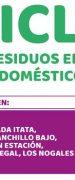 Segunda «Campaña de Reciclaje de Residuos Electrónicos, Electrodomésticos y Baterías»